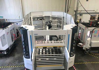 BMO Automation Titanium 180 mit zwei Bearbeitungszentren von Hermle